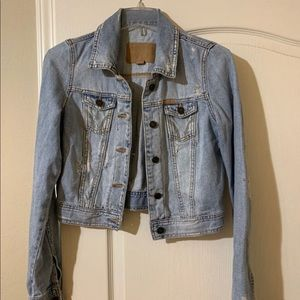 Vintage Hollister Cropped Jacket
